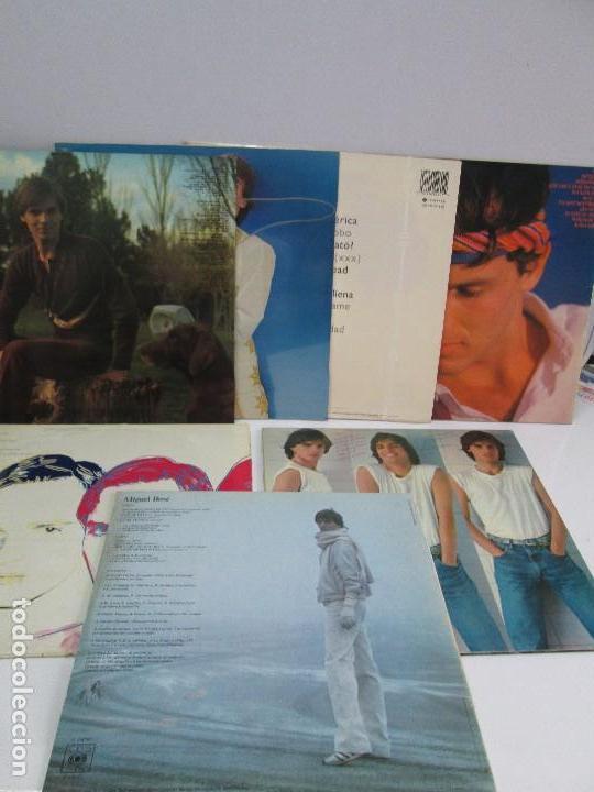 Discos de vinilo: DISCOS DE VINILO. MIGUEL BOSE. SIETE ALBUNES. VER FOTOGRAFIAS ADJUNTAS - Foto 38 - 77469013