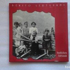 Discos de vinilo: BENITO LERTXUNDI - HUNKIDURA KUTTUNAK CAJA CON 3 LP´S 1993. Lote 77501997