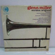 Discos de vinilo: GLENN MILLER. VERSION ORIGINAL. DISCO DE VINILO. VER FOTOGRAFIAS ADJUNTAS. Lote 77505845