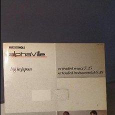 Discos de vinilo: ALPHAVILLE BIG IN JAPAN MAXI EXTENDED REMIX. Lote 77509605