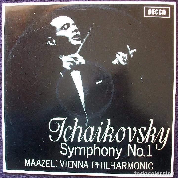 SXL 6159 - TCHAIKOVSKY - SINFONÍA N°1 - MAAZEL - 1° PRENS 1965 - MINT! (Música - Discos - LP Vinilo - Clásica, Ópera, Zarzuela y Marchas)