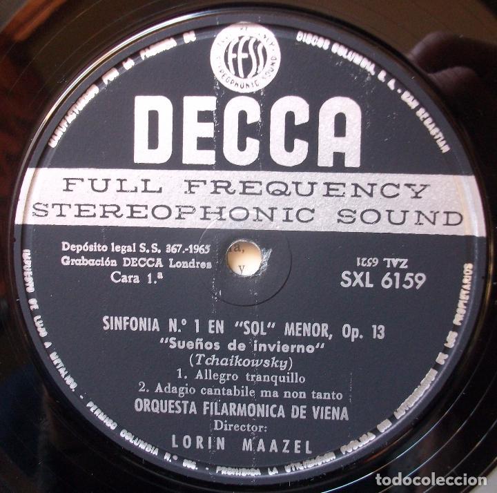 Discos de vinilo: SXL 6159 - Tchaikovsky - Sinfonía N°1 - Maazel - 1° prens 1965 - Mint! - Foto 3 - 77517165