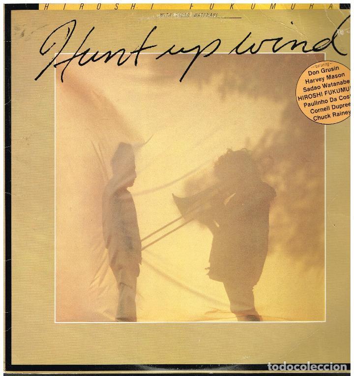 HIROSHI FUKUMURA - HUNT UP WIND - LP 1980 - ED. USA (Música - Discos - LP Vinilo - Jazz, Jazz-Rock, Blues y R&B)