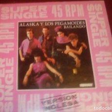 Discos de vinilo: ALASKA Y LOS PEGAMOIDES - BAILANDO VERSION INGLESA Y ESPAÑOLA - MAXI SINGLE.12. Lote 77569137