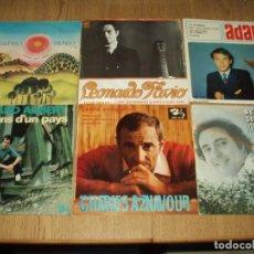 Discos de vinilo: LOTE 25 SINGLES Y EPS FRANCESES E ITALIANOS AÑOS 60/70. Lote 77583437