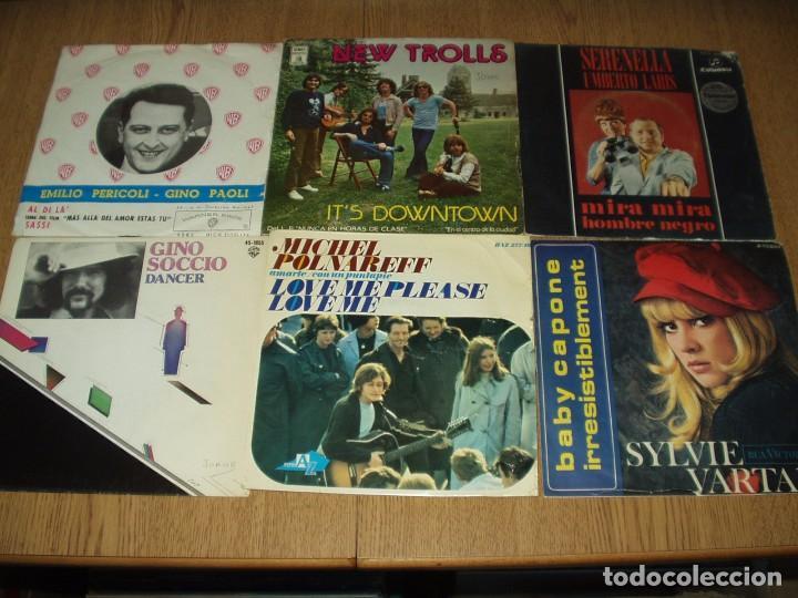 Discos de vinilo: LOTE 25 SINGLES Y EPS FRANCESES E ITALIANOS AÑOS 60/70 - Foto 2 - 77583437