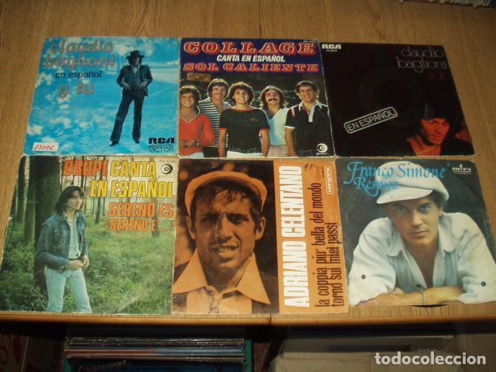 Discos de vinilo: LOTE 25 SINGLES Y EPS FRANCESES E ITALIANOS AÑOS 60/70 - Foto 3 - 77583437