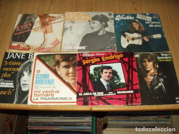 Discos de vinilo: LOTE 25 SINGLES Y EPS FRANCESES E ITALIANOS AÑOS 60/70 - Foto 4 - 77583437