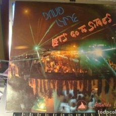 Discos de vinilo: RAR MAXI 12. DAVID LYME. LET'S GO TO SITGES. ITALO DISCO. MADE IN SPAIN. Lote 105564194
