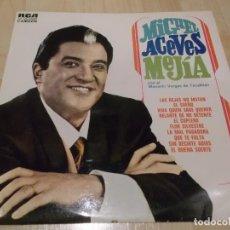 Discos de vinilo: MIGUEL ACEVES MEJIA CON EL MARIACHI DE TECALITLAN RCA CAMDEN 1969 ED ESPAÑOLA. Lote 77642649