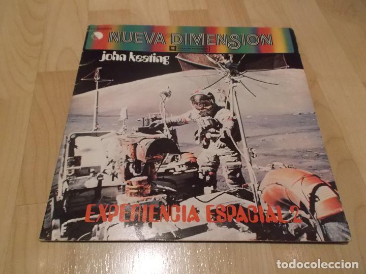 JOHN KEATING NUEVA DIMENSION EXPERIENCIA ESPACIAL 2 ED ESPAÑOLA 1975 JAZZ ELECTRONIC (Música - Discos - LP Vinilo - Jazz, Jazz-Rock, Blues y R&B)