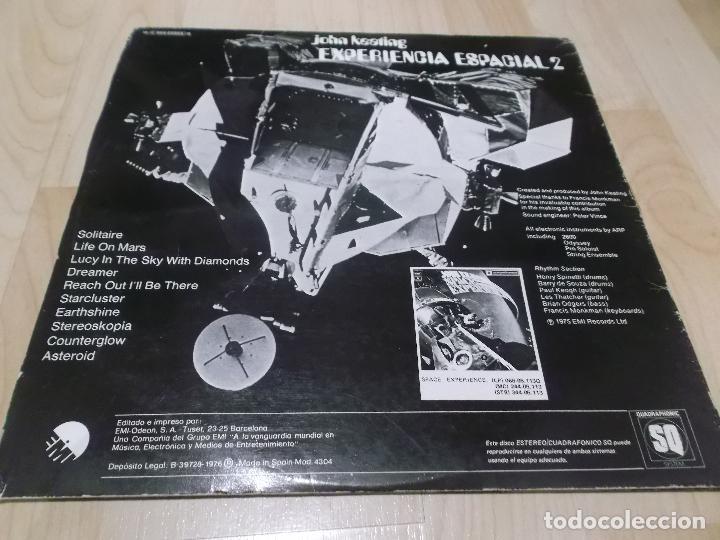 Discos de vinilo: JOHN KEATING NUEVA DIMENSION EXPERIENCIA ESPACIAL 2 ED ESPAÑOLA 1975 JAZZ ELECTRONIC - Foto 3 - 77643229