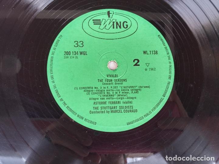 Discos de vinilo: Vivaldi - The four seasons - The Stuttgart Soloists conducted by Marcel Couraud - Foto 4 - 77648569