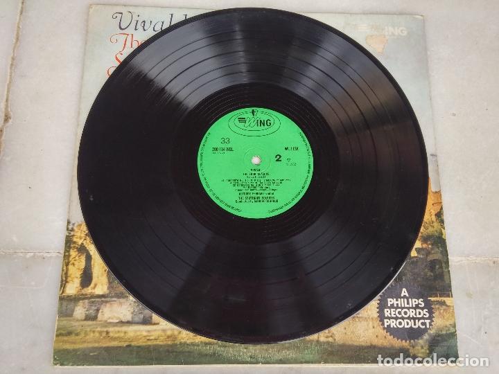 Discos de vinilo: Vivaldi - The four seasons - The Stuttgart Soloists conducted by Marcel Couraud - Foto 5 - 77648569