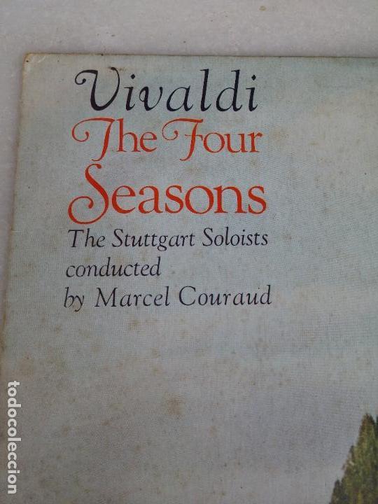 Discos de vinilo: Vivaldi - The four seasons - The Stuttgart Soloists conducted by Marcel Couraud - Foto 6 - 77648569