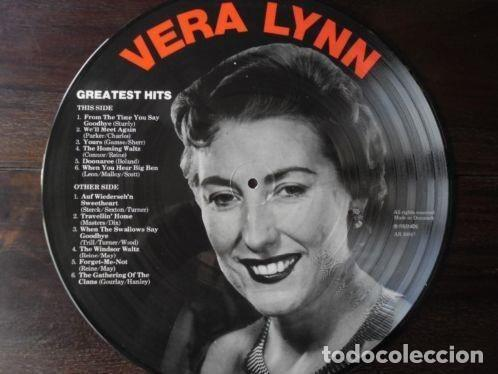 Discos de vinilo: VERA LYNN * LP PICTURE DISC * GREATEST HITS * FOTODISCO * MUY RARO * MADE IN DINAMARCA NUEVO - Foto 3 - 26597540