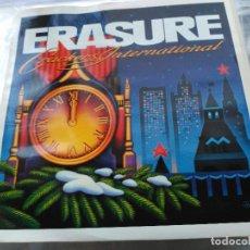 Discos de vinilo: EP ERASURE - CRACKERS INTERNATIONAL - MUTE UK 1988 VG+. Lote 77726305