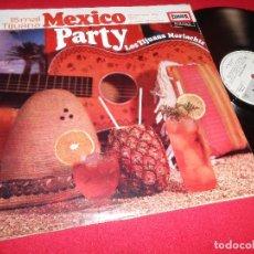 Dischi in vinile: LOS TIJUANA MARIACHIS MEXICO PARTY LP EUROPA EDICION ALEMANA GERMANY. Lote 77732641