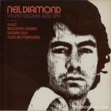 Discos de vinilo - NEIL DIAMOND - VELVET GLOVES AND SPIT LP - 77736081