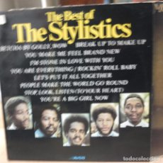 Discos de vinilo: THE STYLISTICS- THE BEST OF -UK -LP -AVCO. Lote 77739801