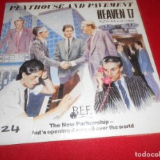Discos de vinilo: HEAVEN 17 PENTHOUSE AND PAVEMENT LP 1981 VIRGIN EDICION ESPAÑOLA SPAIN NUEVO. Lote 77745953