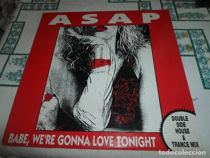 ASAP BABE, WERE GONNA LOVE TONIGHT (Música - Discos de Vinilo - Maxi Singles - Techno, Trance y House)
