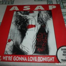 Discos de vinilo: ASAP BABE, WERE GONNA LOVE TONIGHT. Lote 77751213