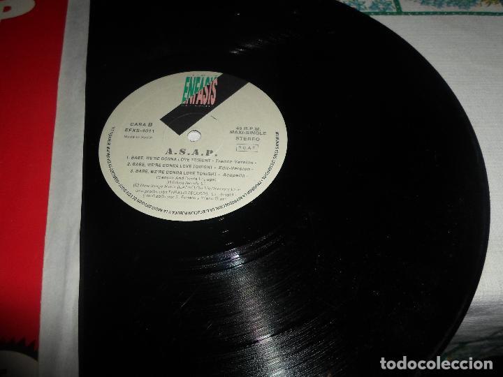 Discos de vinilo: ASAP BABE, WERE GONNA LOVE TONIGHT - Foto 2 - 77751213
