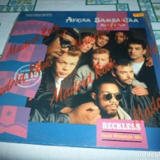 Discos de vinilo: AFRIKA BAMBAATA AND FAMILY RECKLESS. Lote 77751461