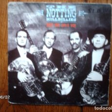 Discos de vinilo: THE NOTTING HILLBILLIES - YOUR OWN SWEET WAY + BEWILDERED. Lote 77754817