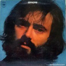 Discos de vinilo: SIMONE (LUIS GÓMEZ ESCOLAR). CBS. SPAIN 1974 LP + DOBLE CUBIERTA. Lote 77806373