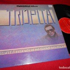 Discos de vinilo: TRUPITA ESTA NOCHE ME QUIERO DESCOLGAR/NO TENGO MIEDO A LA CIRUGIA/INTENTANDO SER 12 MX 1984 MOVIDA . Lote 77812965