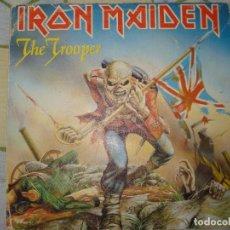 Discos de vinilo: IRON MAIDEN - THE TROOPER - SINGLE EDICION ESPAÑOLA AÑO1983. Lote 77824645