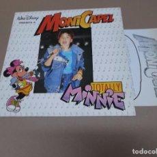 Discos de vinilo: MONI CAPEL (MX) TOTALLY MINNIE +2 TRACKS AÑO 1987 – CON HOJA PROMOCIONAL. Lote 77831585