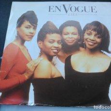 Discos de vinilo: SINGLE EN VOGUE - LIES - ATLANTIC EUROPE 1990 VG+. Lote 77833825