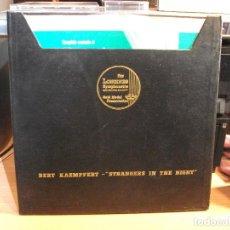 Discos de vinilo: BERT KAEMPFERT STRANGERS IN THE NIGHT BOX/LP USA PDELUXE. Lote 77834433