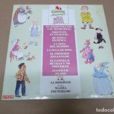 Disques de vinyle: CUENTOS Y CANCIONES DE LA MEDIA LUNITA (LP) A. RODRIGUEZ ALMODOVAR Y MARIA ESCRIBANO AÑO 1987 – DOBL. Lote 77835869