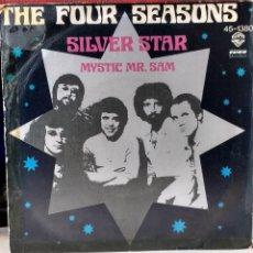 Discos de vinilo: THE FOUR SEASONS FRANKIE VALLI SILVER STAR. SINGLE 45 SPAIN 1976. Lote 77843661