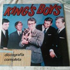 Discos de vinilo: KING'S BOYS. DISCOGRAFÍA COMPLETA 1964-1965 (ALLIGATOR RECORDS 1988). Lote 77856069