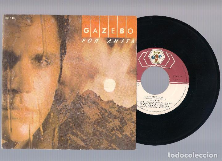 GAZEBO - For Anita + No Speed Control (single 7'' 1985, Baby Records BR 113) segunda mano