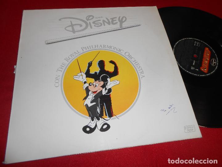DISNEY CON THE ROYAL PHILHARMONIC ORCHESTRA WONDERFUL IDEA LP 1986 MERCURY EDICION ESPAÑOLA SPAIN (Música - Discos - LP Vinilo - Bandas Sonoras y Música de Actores )