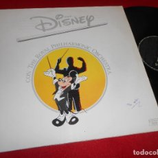 Discos de vinilo: DISNEY CON THE ROYAL PHILHARMONIC ORCHESTRA WONDERFUL IDEA LP 1986 MERCURY EDICION ESPAÑOLA SPAIN. Lote 77874389