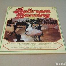 Discos de vinilo: R.T.S.I. ORCHESTRA BY MARIO ROBBIANI, TANGO RUMBA ORCHESTRA METROPOLE - BALLROOM DANCING (CAJA 3LP). Lote 77886661