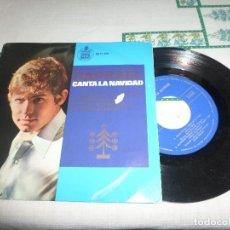 Discos de vinilo: RAPHAEL CANTA LA NAVIDAD. Lote 77888169