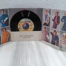 Discos de vinilo: DISCO VINILO PROMOCIONAL SINGLE - ESCORPION OTOÑO 1983 - JULIO IGLESIAS. Lote 77913761