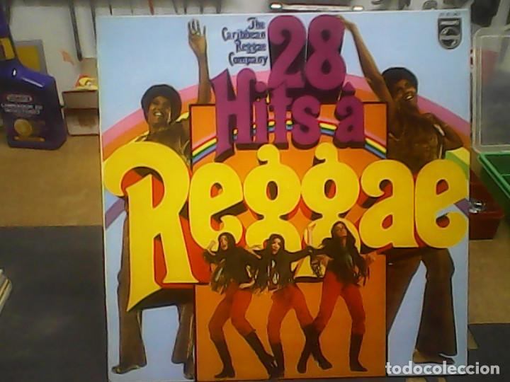 THE CARIBBEAN REGAE COMPANY- 28 HITS A REGGAE (Música - Discos - LP Vinilo - Reggae - Ska)