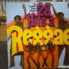 Discos de vinilo: THE CARIBBEAN REGAE COMPANY - 28 HITS A REGGAE. Lote 240362165