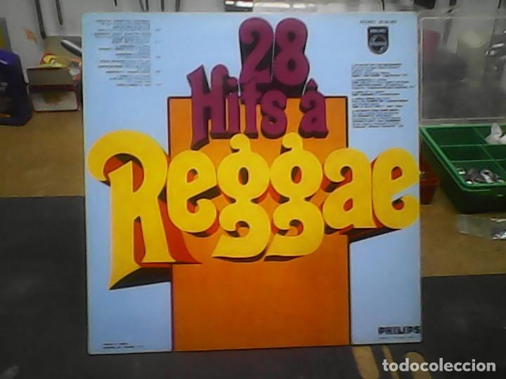 Discos de vinilo: THE CARIBBEAN REGAE COMPANY- 28 HITS A REGGAE - Foto 2 - 77914693