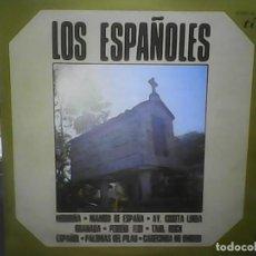 Discos de vinilo: LOS ESPAÑOLES- MORRIÑA, MANBO DE ESPAÑA, GRANADA…. Lote 77920565