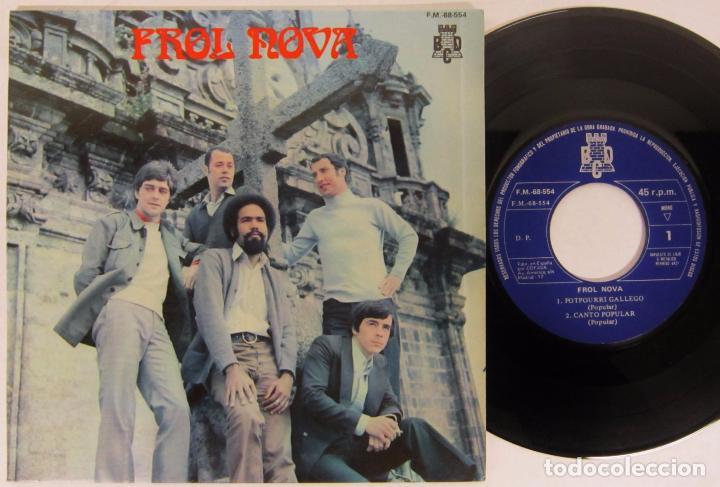 FROL NOVA / TERRA A NOSA - POTPOURRI GALLEGO - EP - BCD 1975 (Música - Discos de Vinilo - EPs - Grupos Españoles de los 70 y 80)